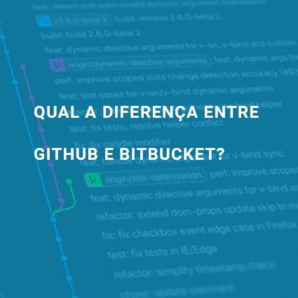 Qual a diferença entre Github e bitbucket?